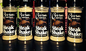 Carl & Chelle's Steak Shake will take your steaks to the next level!