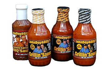 John Boy and Billy Sauce is a great way to pump up the flavor on your next grilling meal!